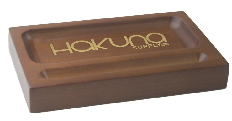 Hakuna Wooden Rolling Tray