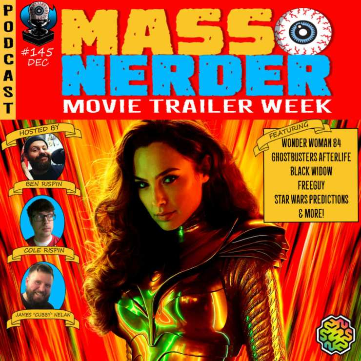 Mass Nerder - Movie trailers ghostbusters afterlife Wonder Woman