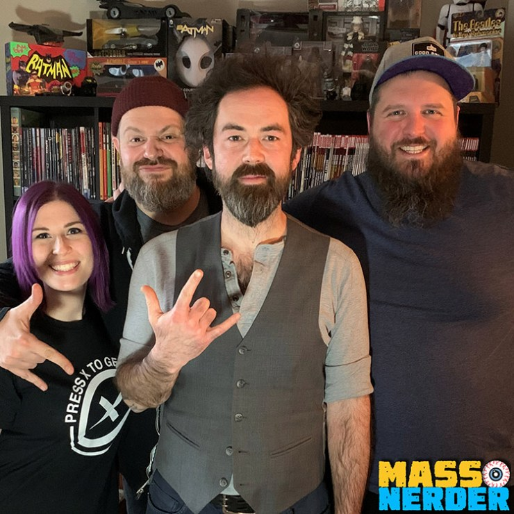 James Black of Finger Eleven Infuses Pop Culture On This weeks episode of the mass nerder podcast