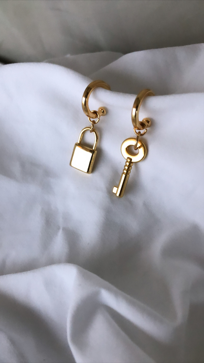 Brinco Key Padlock Gold