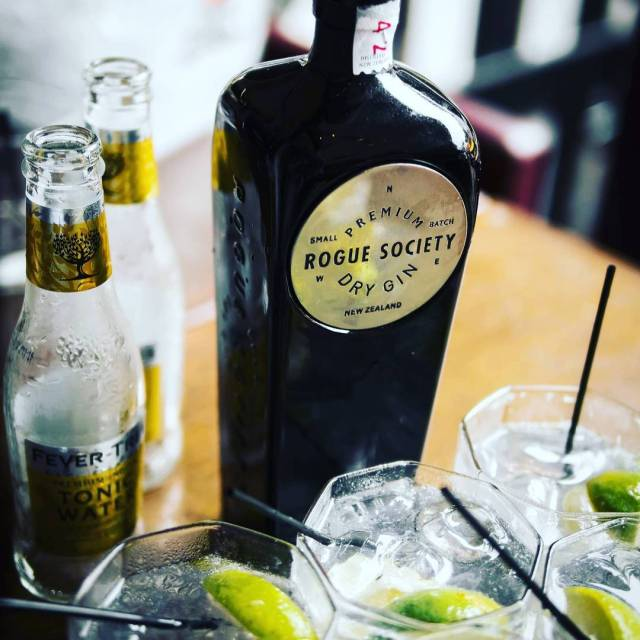 Rogue Society Dry Gin a craft spirit from New Zealandhellip