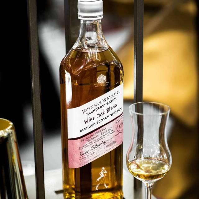 Another shot of the Johnnie Walker Blenders Batch Wine Caskhellip