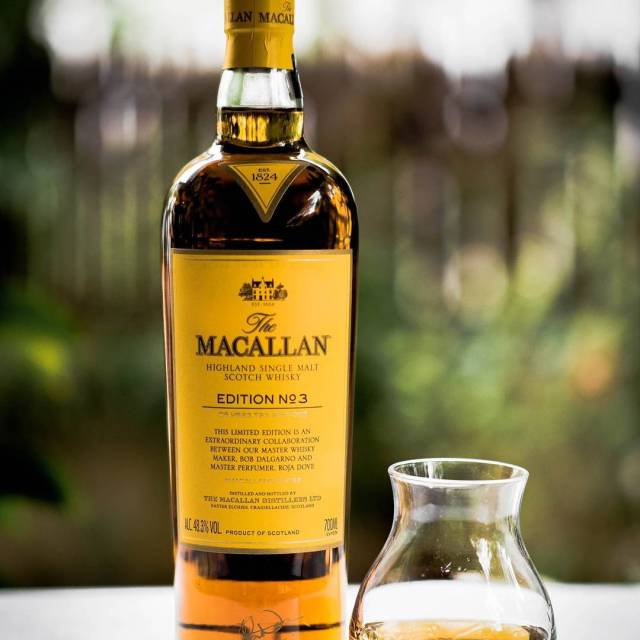 Another shot of The Macallan Edition No3 This time itshellip