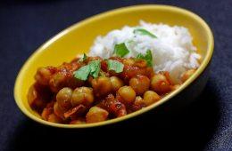 Indisches Kichererbsen-Curry