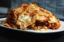 Lasagne mit Blumenkohl-Bolognese