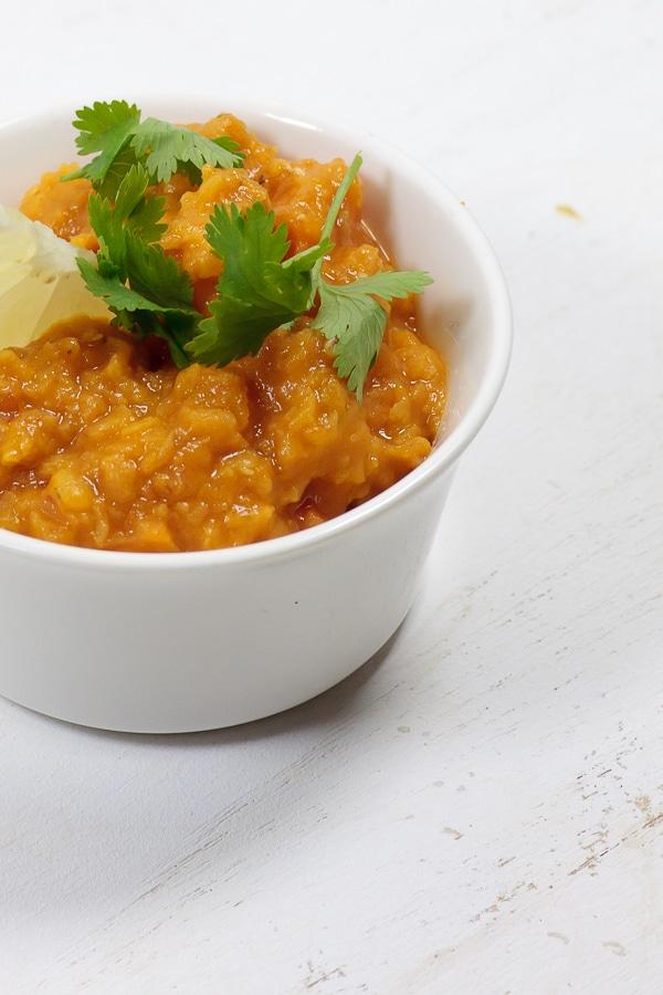 Kürbis-Süßkartoffel-Curry nach Korma-Art
