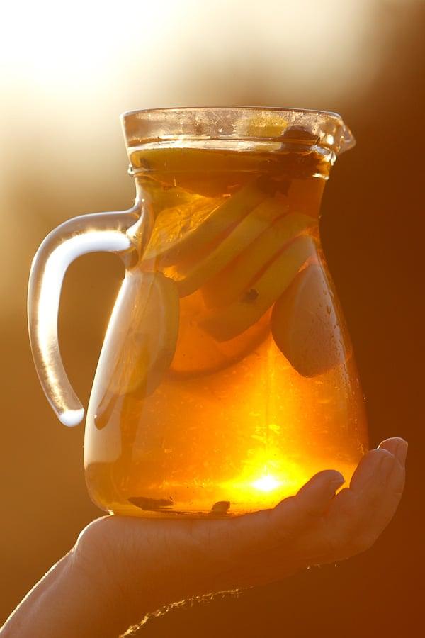 Apfel-Zitronen-Limonade