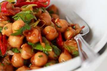 kichererbsen-koriander-salat