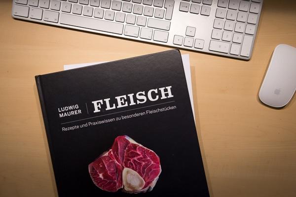 """""""Fleisch"""" - Kochbuch von Ludwig Maurer"""