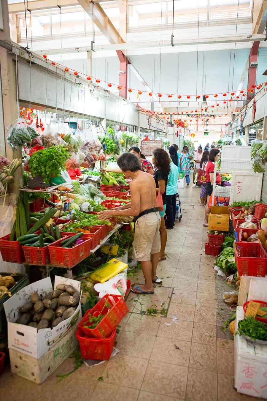 Markt in Bedok