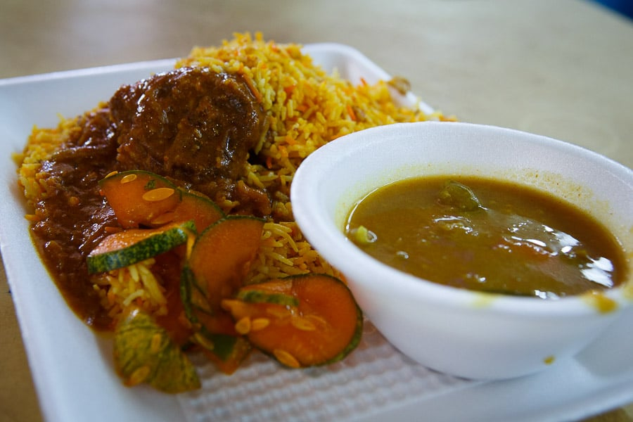 Mutton Briyani Curry