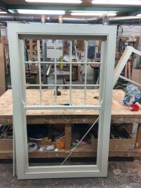 Hardwood sash window - chelsea