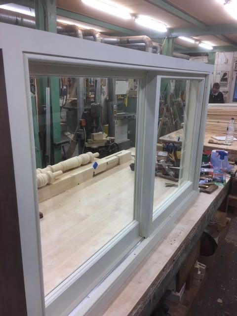 Yorkshire sash window - London 2