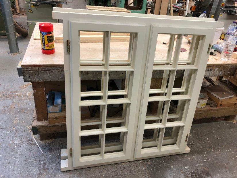 Softwood double glazed casement windows - Hampstead, London 1