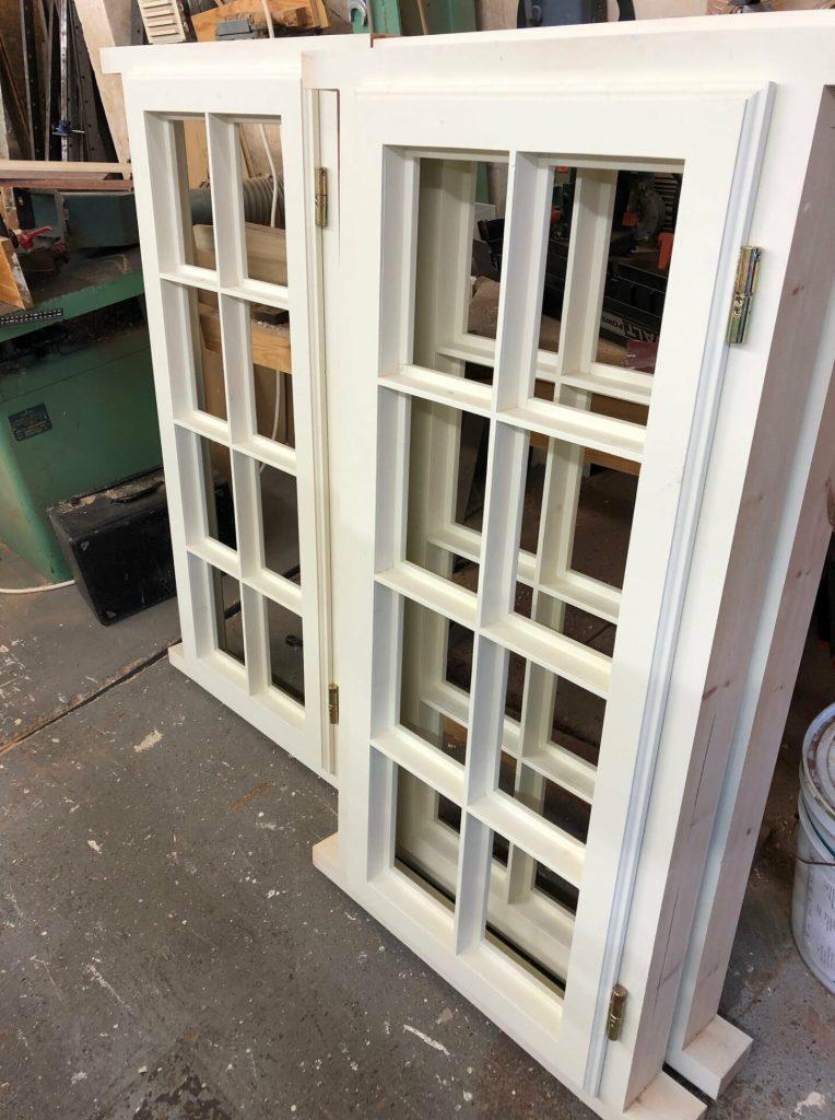 Softwood double glazed casement windows - Hampstead, London 2