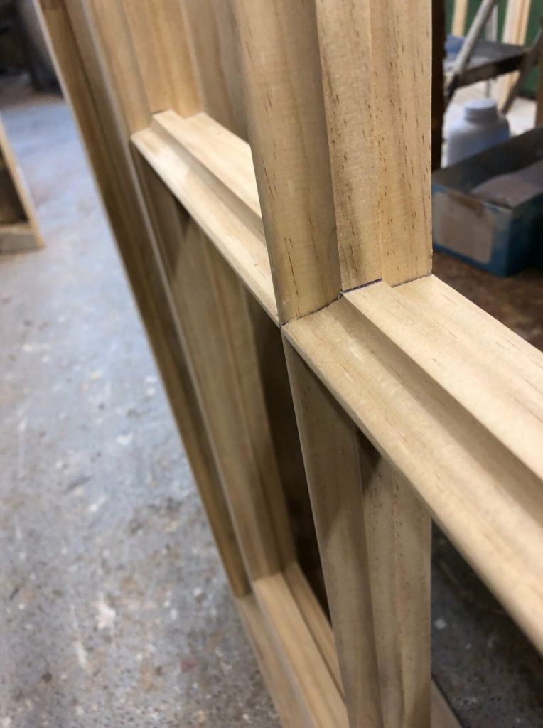 Accoya sash window mould