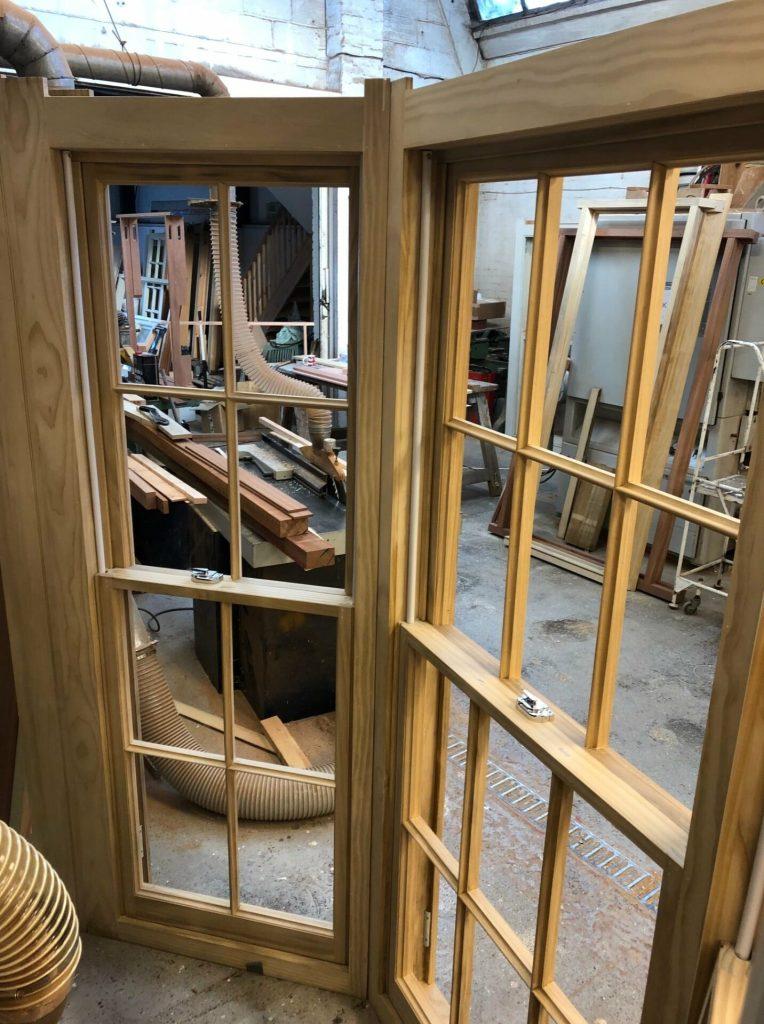 Accoya sash window bay