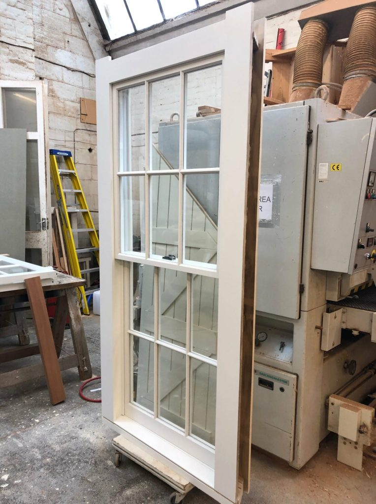 Accoya double glazed sash windows