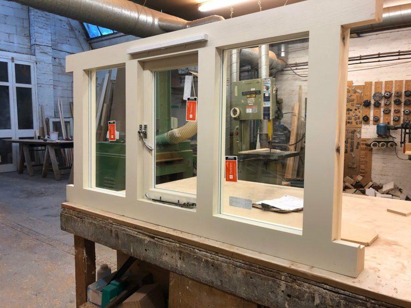 Softwood casement window - Kentish Town 2
