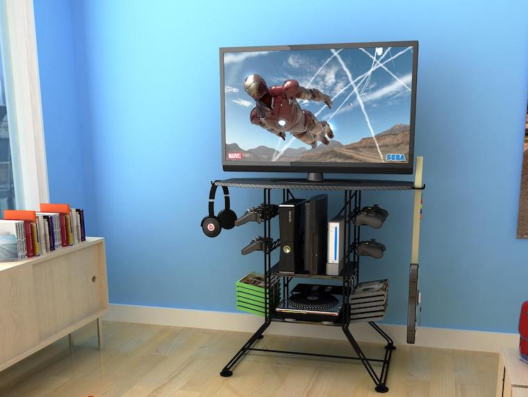 20 Best Gaming TV Stands Amp Game Racks Of 2018 High