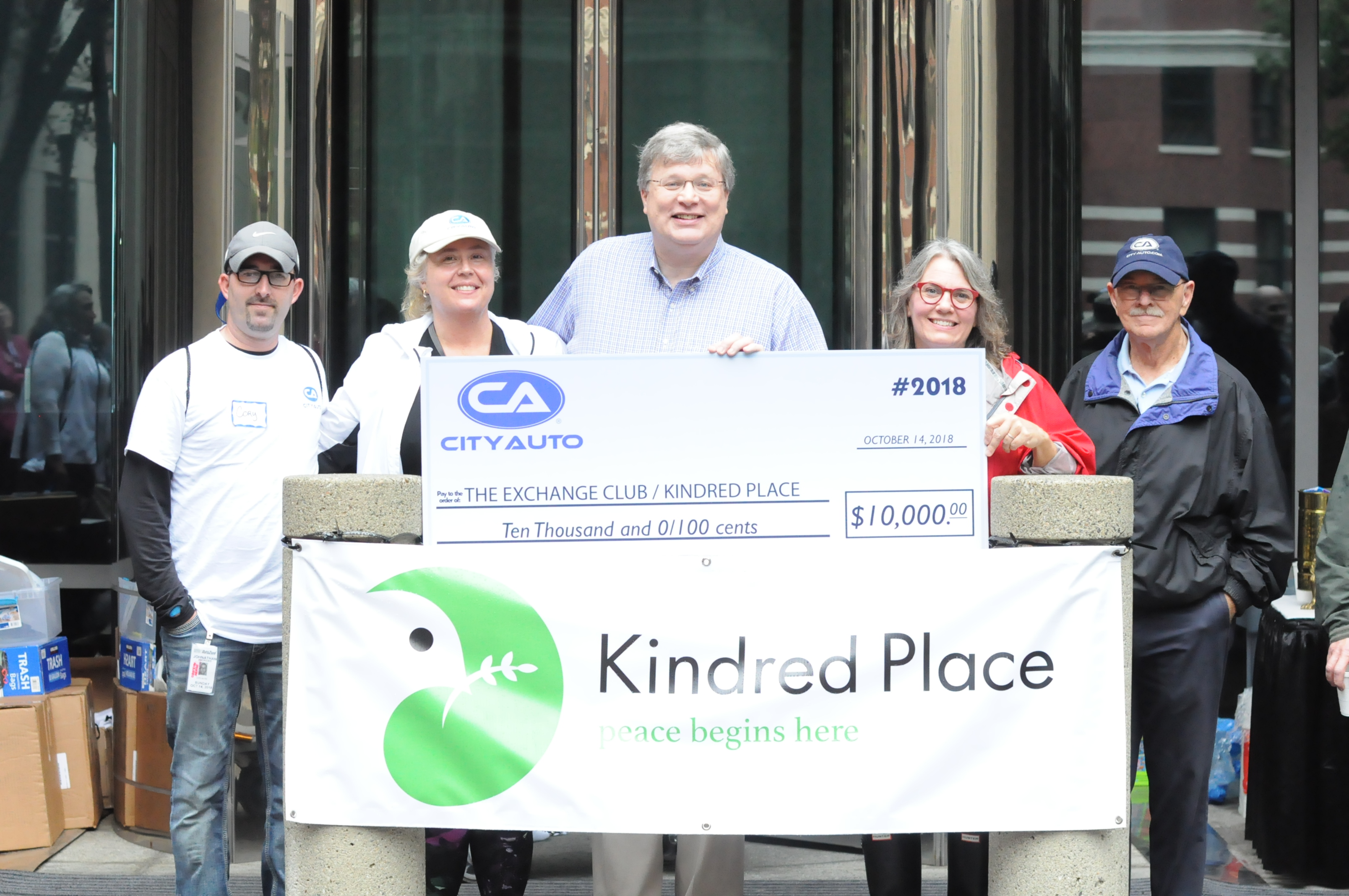 "Mayor Jim Strickland designated Oct. 14 as ""Kindred Community Day"" to kick off the rebranding of The Exchange Club Family Center. (Kindred Place)"