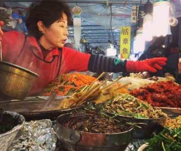 Places to Visit in Seoul: Gwangjang Market