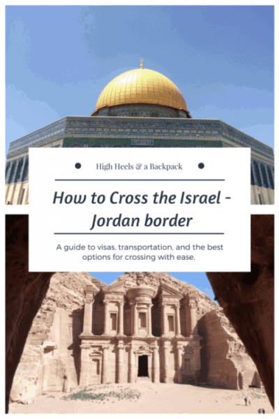 How to cross the Israel Jordan border