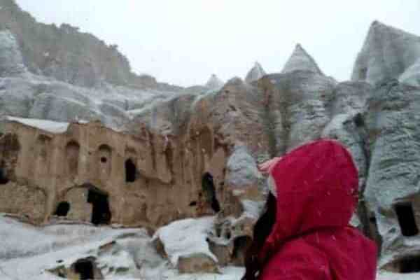 Solo Hiking: Winter in Cappadocia