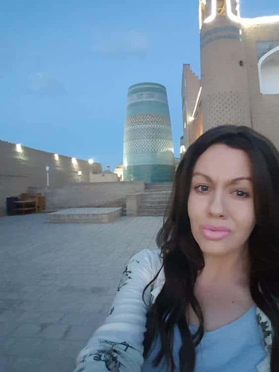 Solo female travel in Uzbekistan - Khiva