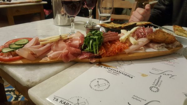 Best Restaurants in Athens: Karamanlidika is a popular choice for Charcuterie