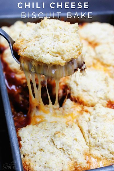 Chili Cheese Biscuit Bake - Easy Meal Plan #17