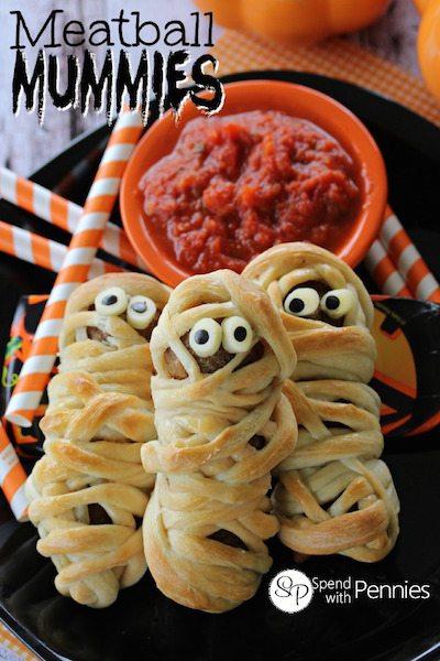 Meatball Mummies - Easy Meal Plan #17