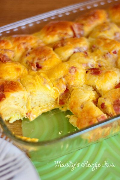 Bubble up Breakfast Casserole - Easy Meal Plan #25