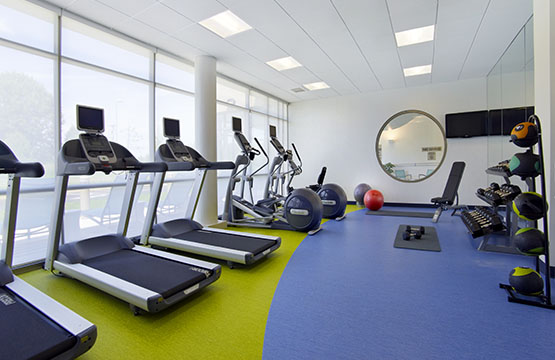 New Jersey Hotel Reservations Break a sweat in our new fitness center