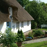 thatched roof cottage with well maintained thatched roof