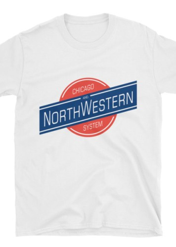 Chicago and North Western Railway T-Shirt