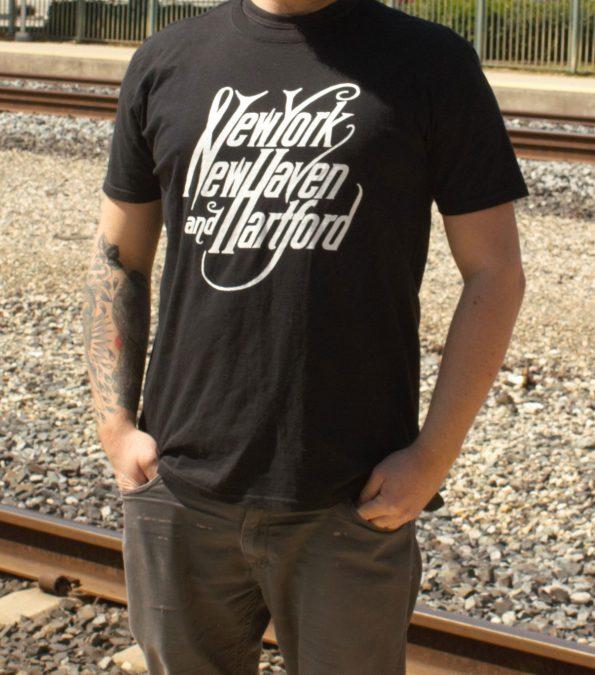 New York New Haven and Hartford Railroad T-Shirt