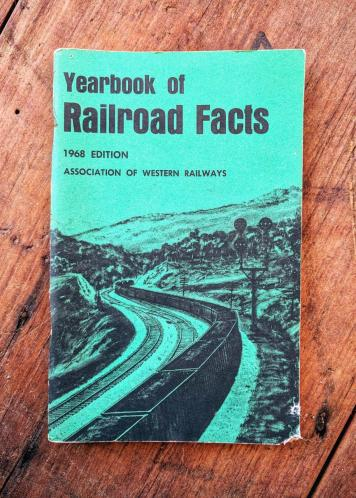 Yearbook of Railroad Facts 1968 Edition