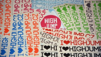 HIGHJUMP Stickers 2017