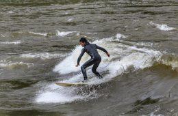 River Surfing in West Virginia