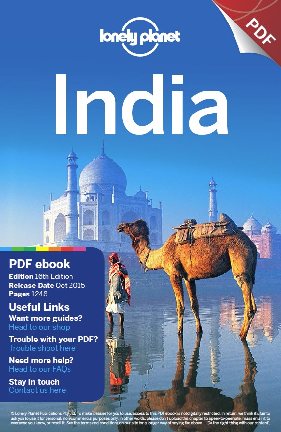 India travel guide Book Cover