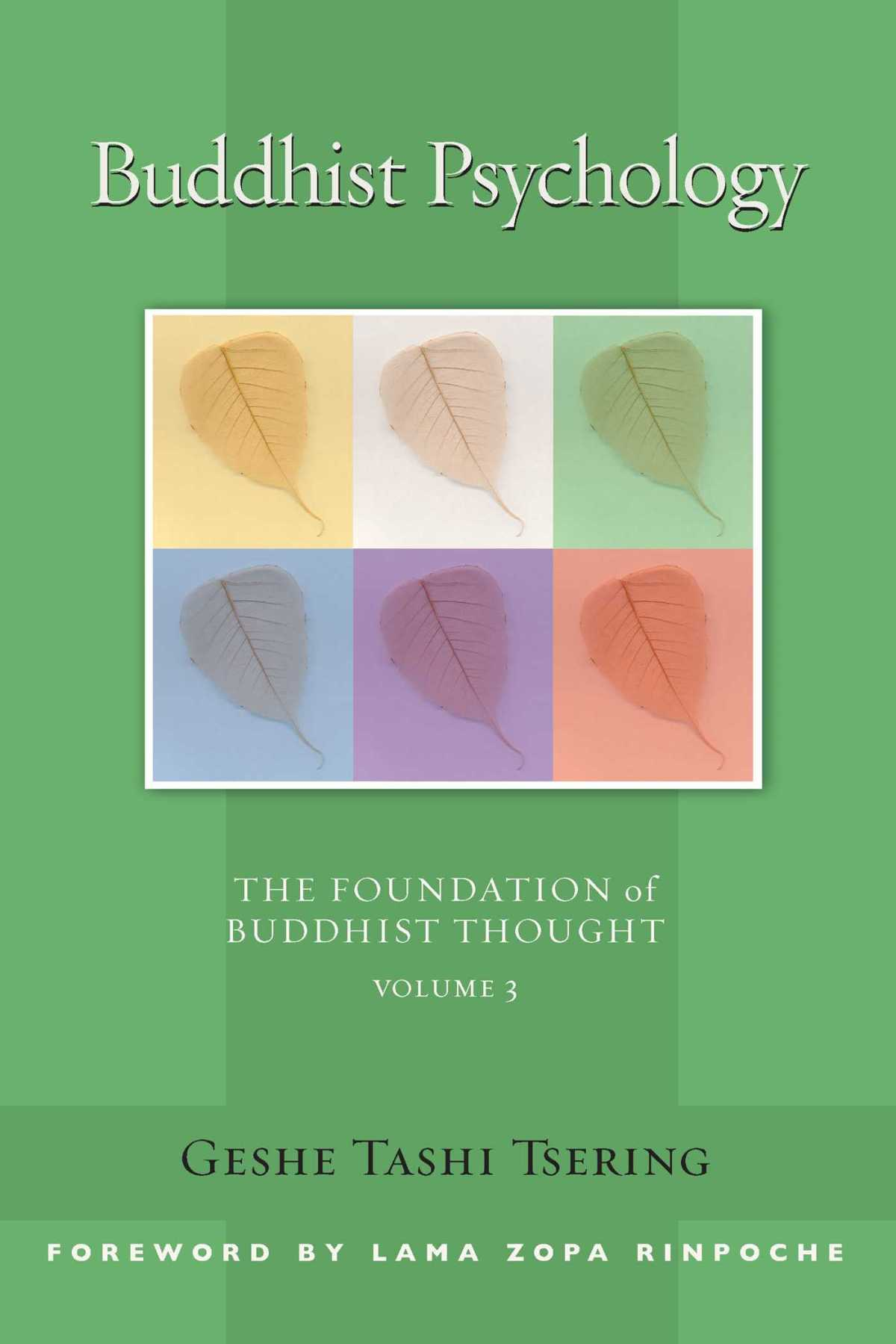BUDDHIST PSYCHOLOGY Book Cover