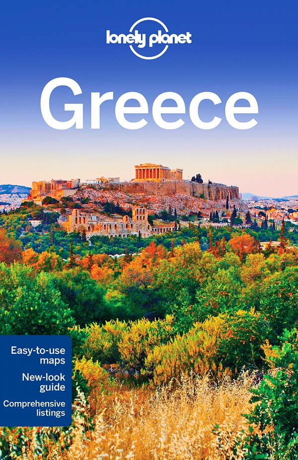 Greece travel guide Book Cover