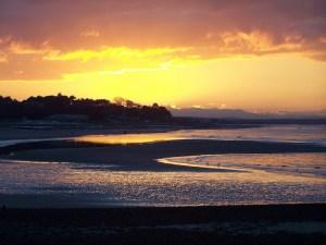 Nairn Beach Sunset