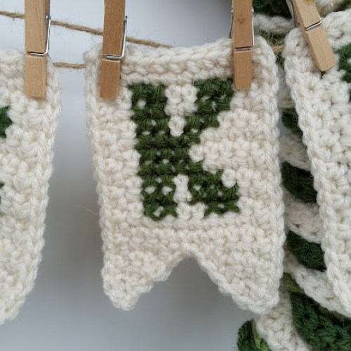st patricks day wreath crochet holiday decoration