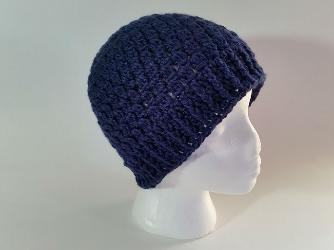 Navy Clusters Hat