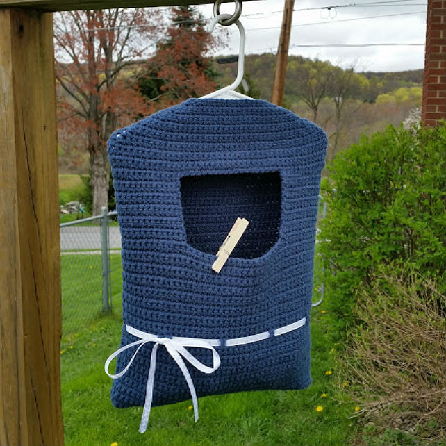 Blue Ribbon Clothespin Bag Highland Hickory Designs Simple Clothespin Bag Pattern