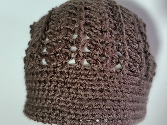 Taupe Slouch Hat