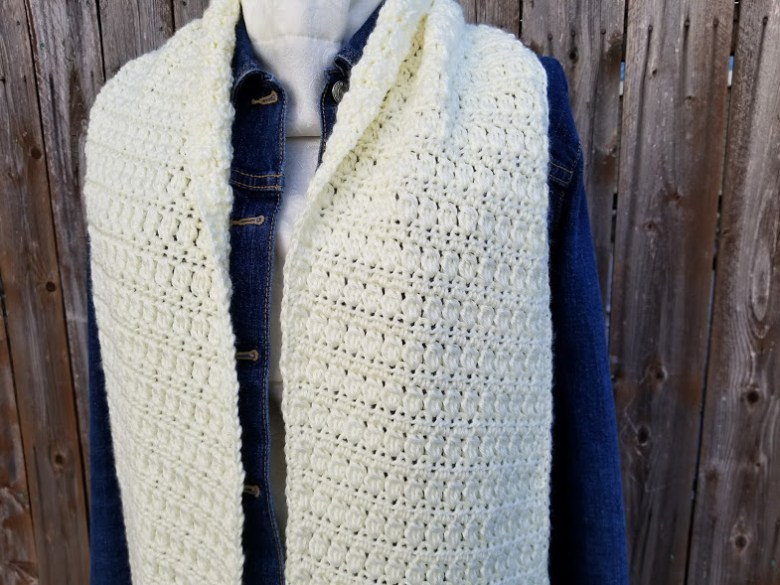 angled clusters scarf