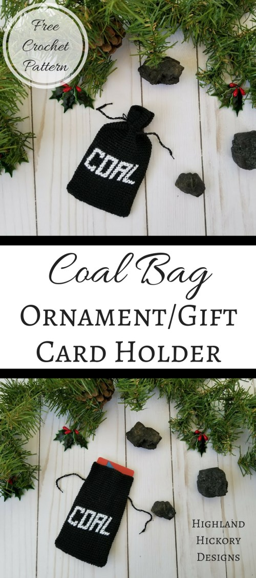 coal bag ornament